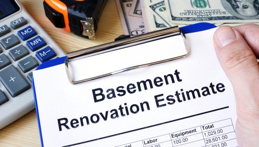 basement remodel cost factors labor